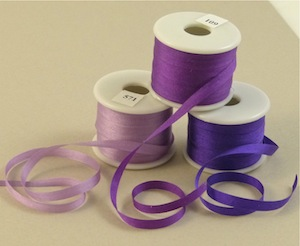 4 mm silk ribbon