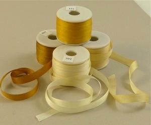 Ruban de soie 7 et 13 mm