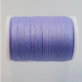 Ruban soie 2 mm mauve clair