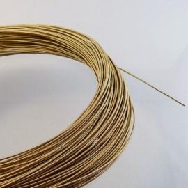 Jaseron vieil or 1 mm