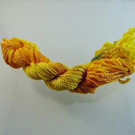 Assortiment changeant jaune orangé