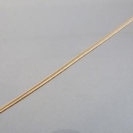 Soutache vanille 3 mm