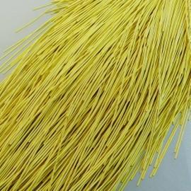Cannetille jaune satiné 1 mm