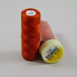 Fil coton rouge cuivré Dare-Dare