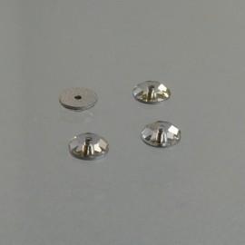 Eclat percé cristal 5 mm