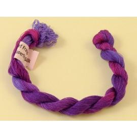 Soie très fine violet changeant