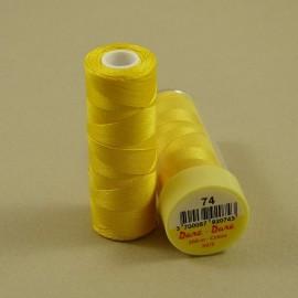 Fil coton jaune d'or Dare-Dare