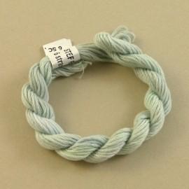 coton mouliné gris perle changeant