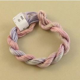 coton mouliné changeant pastel clair