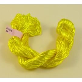 Rayonne 2 mm jaune vif