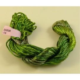 Rayonne 2 mm vert mousse changeant
