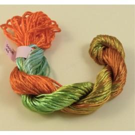Rayonne 2 mm du vert à l'orange