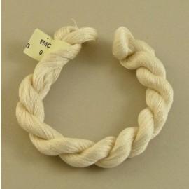 Coton mercerisé fin ivoire