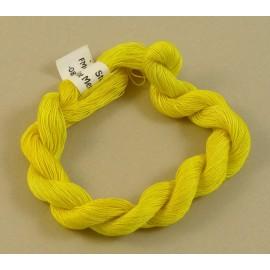 Coton mercerisé fin jaune changeant