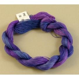 Coton mercerisé fin violet changeant