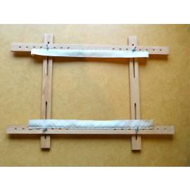 Métier à broder petit modèle 70 x 50 cm