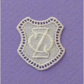Monogramme écusson OZ ou ZO