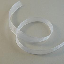 Organza blanc 10 mm