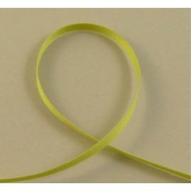 Satin de coton vert amande 6 mm