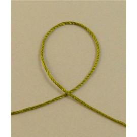 Cordonnet olivine 1,7 mm