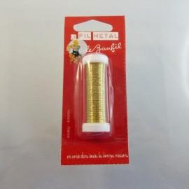 Fil métal doré fin 0,2 mm Le Beaufil