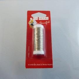 Fil métal argenté 0,4 mm Le Beaufil