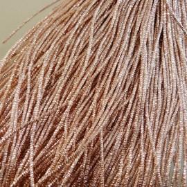 Cannetille frisée 1,1 mm or rosé