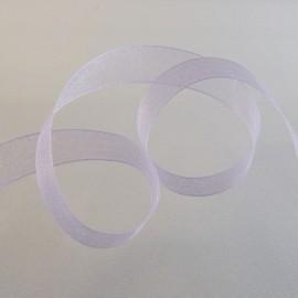 Organza lilas pâle 15 mm