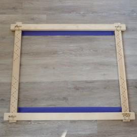 Métier à broder à mortaise 0,90 x 0,75 m