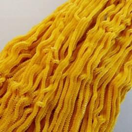 Chenille de soie jaune d'or Au Ver à Soie