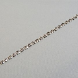 Chaîne de strass cristal 3 mm