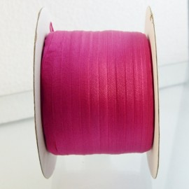 Ruban soie 4 mm rose vif