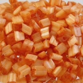 Crémette ancienne 4 mm orange satiné