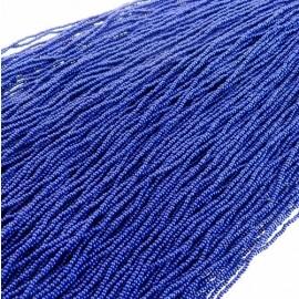 Rocaille 13/0 bleu marine sur fil
