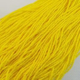 Charlotte 13/0 jaune d'or sur fil
