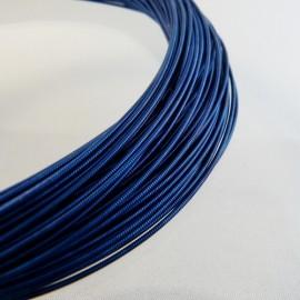 Jaseron bleu nuit 1 mm
