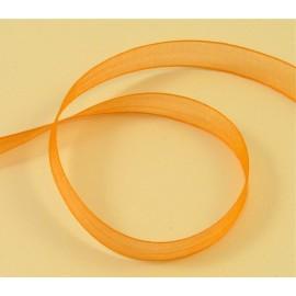 Organza orangé 10 mm