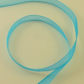 Organza turquoise 10 mm
