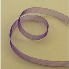 Organza voile violet 10 mm