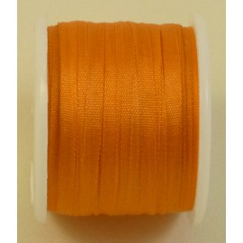 Ruban soie 2 mm orange