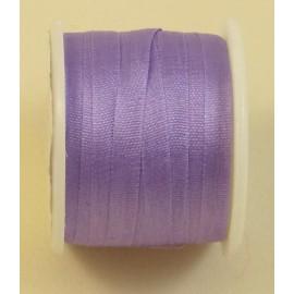 Ruban soie 4 mm lilas
