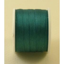 Ruban soie 4 mm émeraude