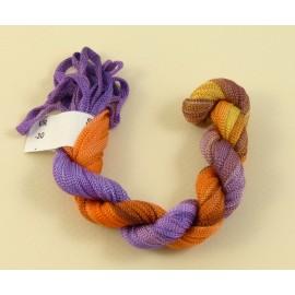 Ruban viscose du violet à l'orange