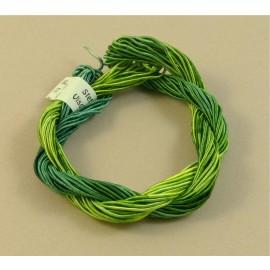 ganse rayonne vert changeant