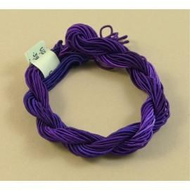 ganse rayonne violet changeant