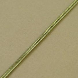 Soutache gris vert 3 mm