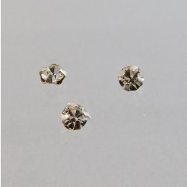 Sew on Preciosa rhinestone 3,7 mm cristal