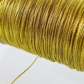 Thin Japanese thread yellow gold