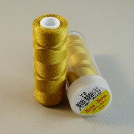 Cotton thread gold color Dare Dare n°73