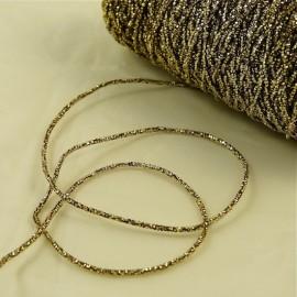 Embroidery thread «scoubidou» gold